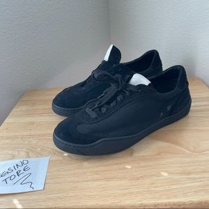 Acne Studios Lace Front All Black AS Sneaker